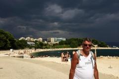 Uvejr-på-vej-Trstenik-stranden