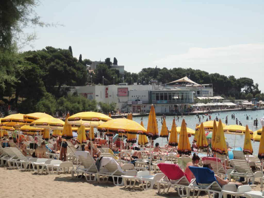 Bacvice stranden Split