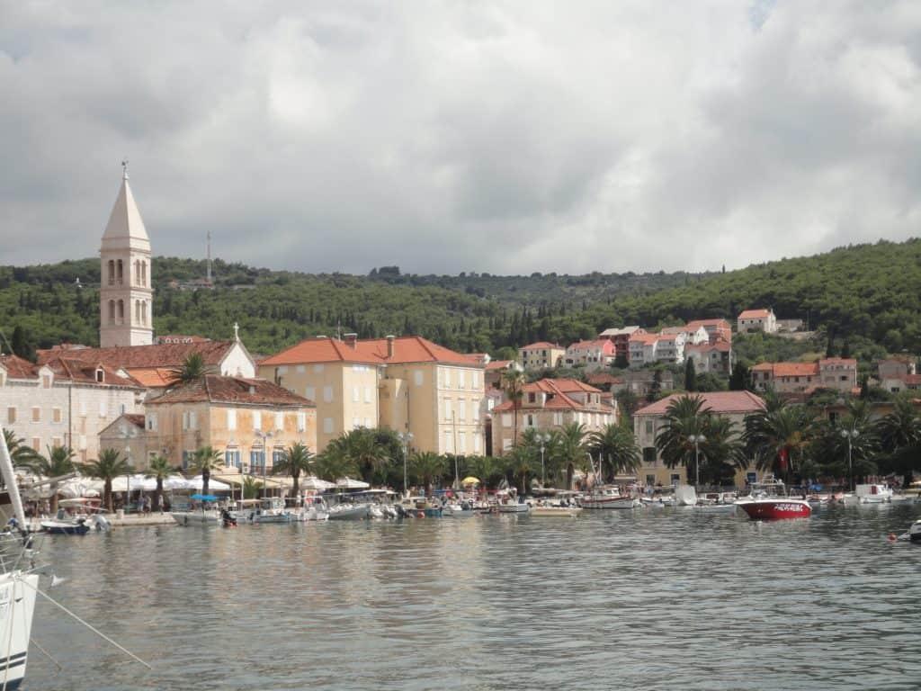 Øer nær Makarska Brac