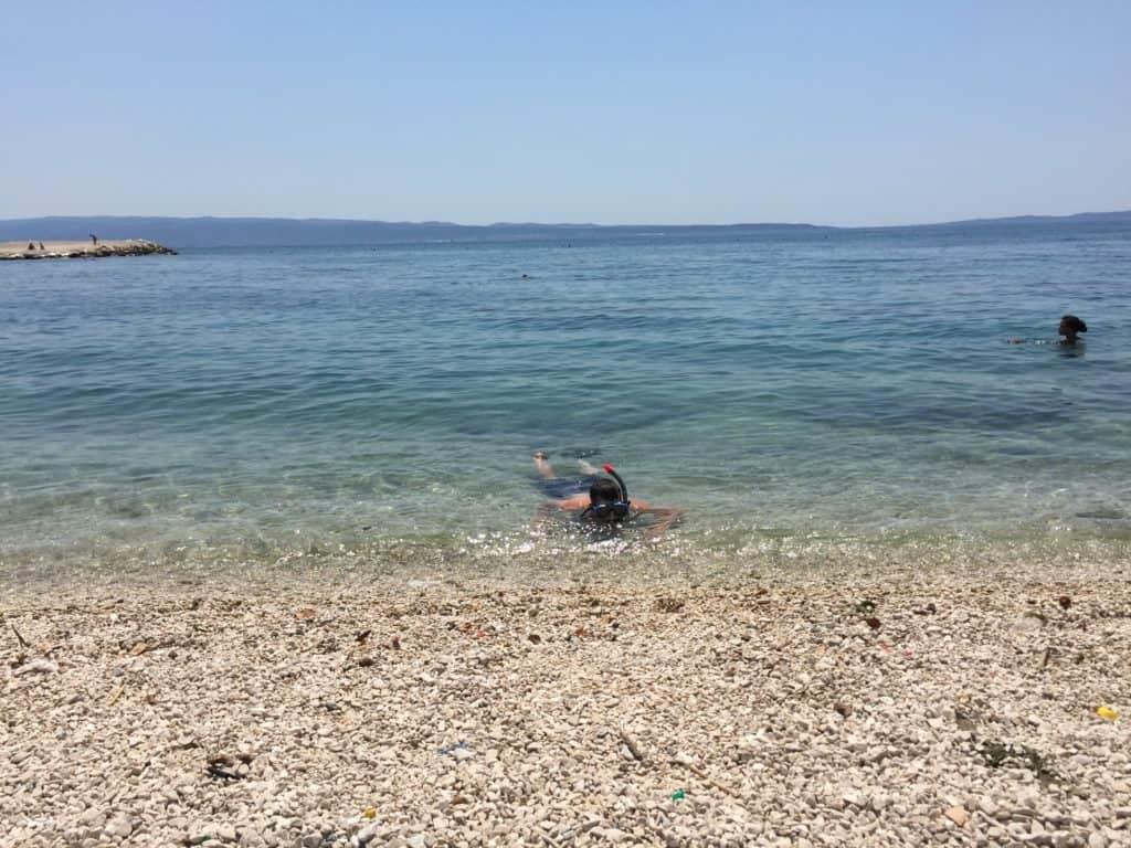 Trstenik stranden ved Split