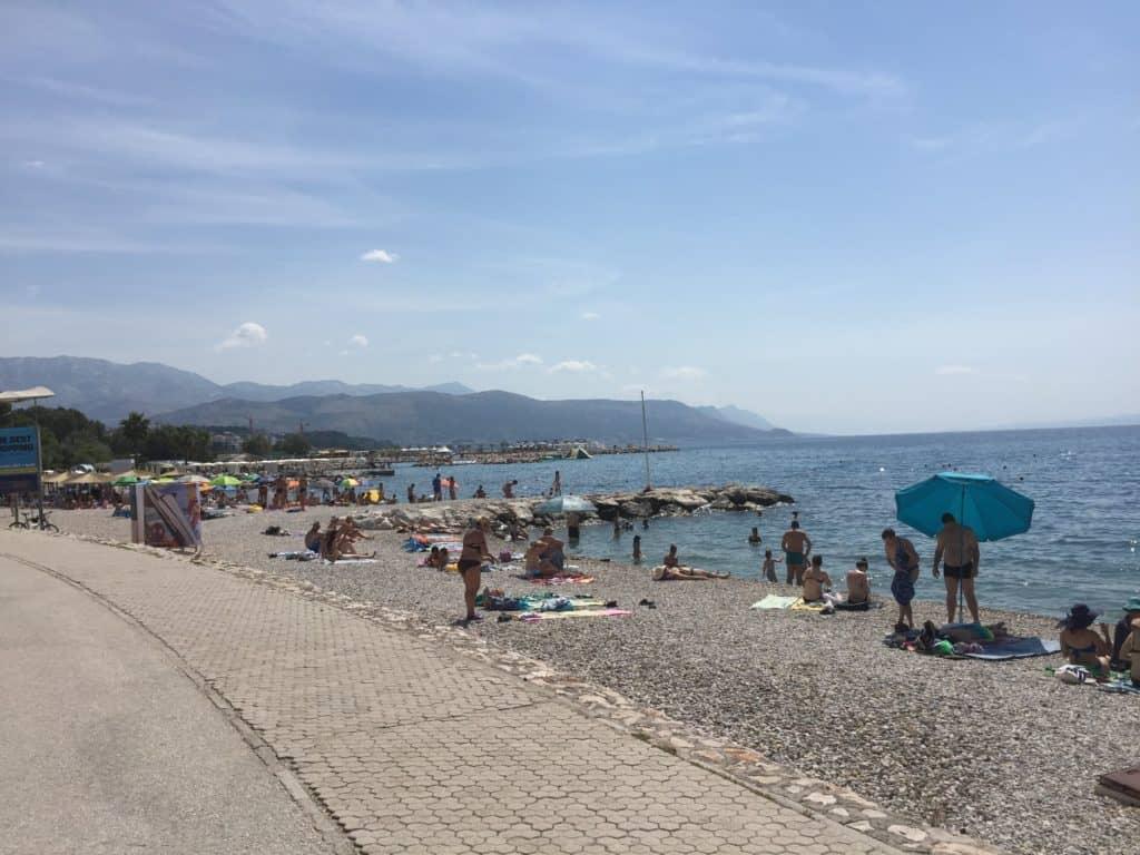Strandene ved Split