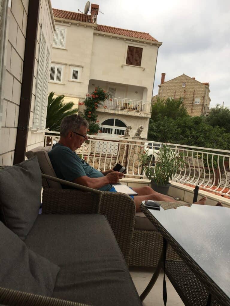 Villa Markoc - lejlighed med balcon
