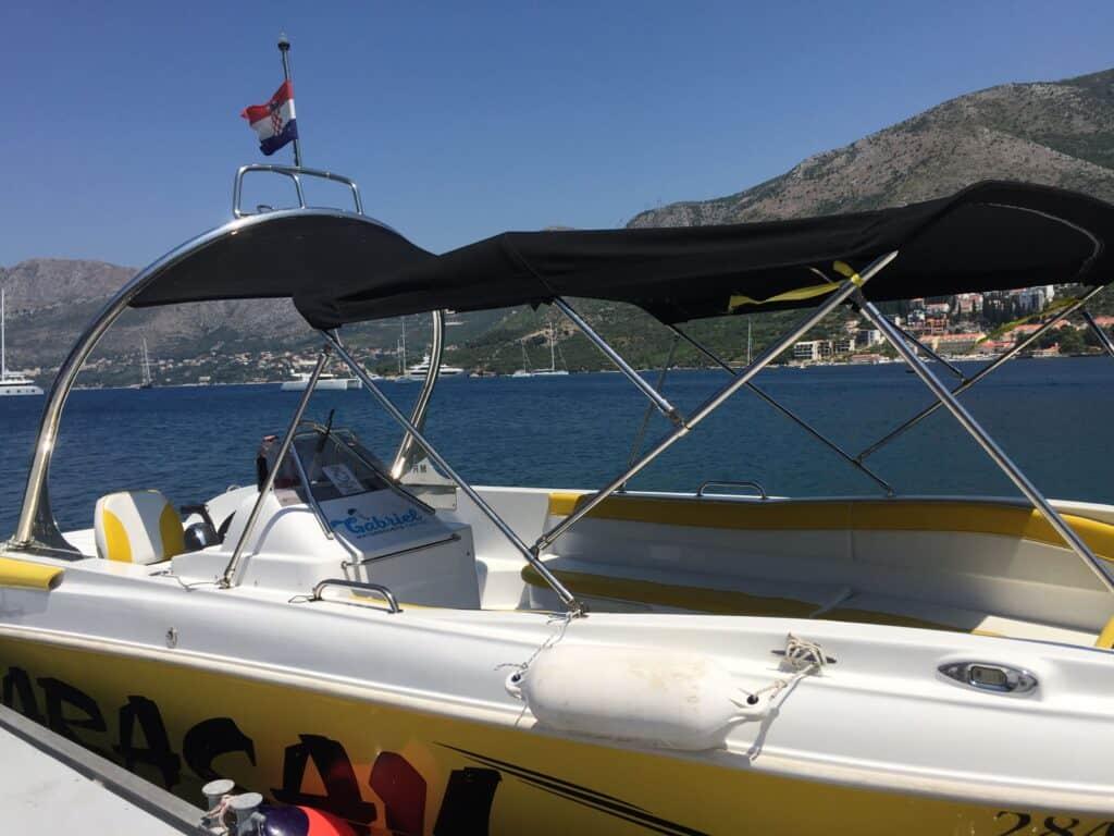 Speedbådstur med kaptajn