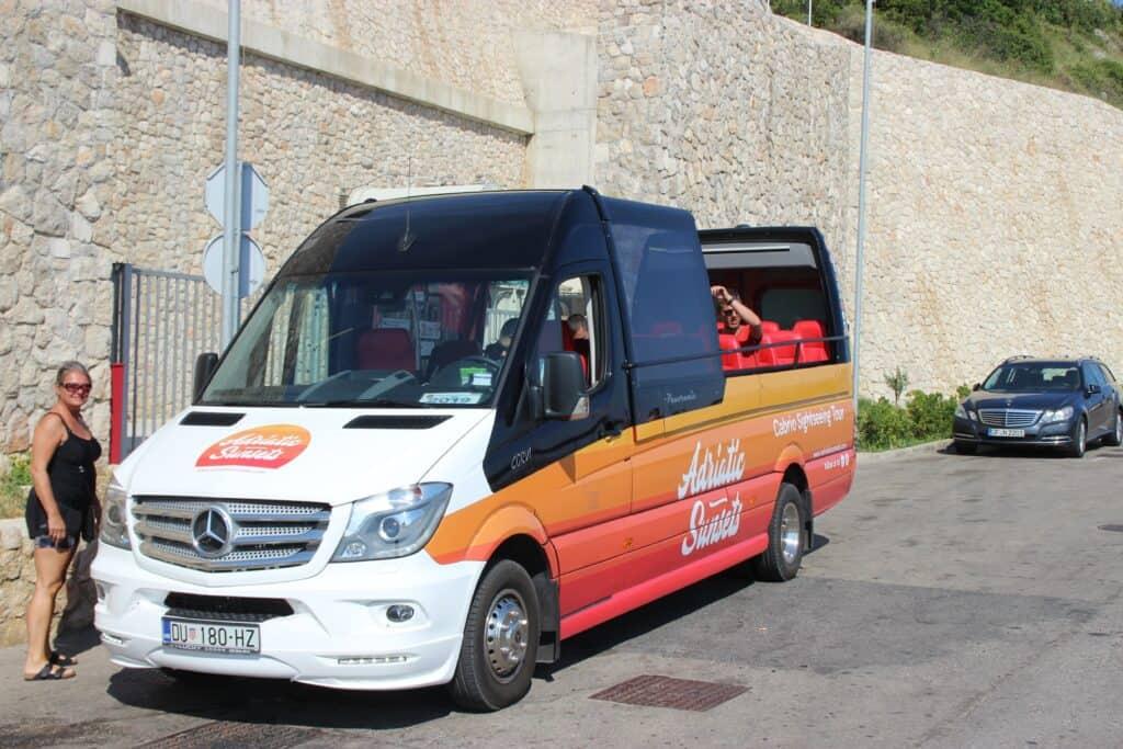 Sightseeing bus i Dubrovnik