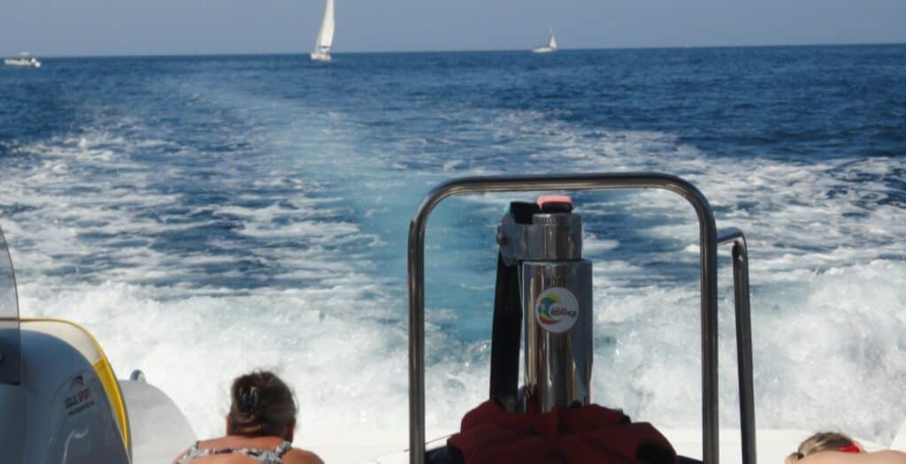 Speedbådtur ved Cavtat om omegn
