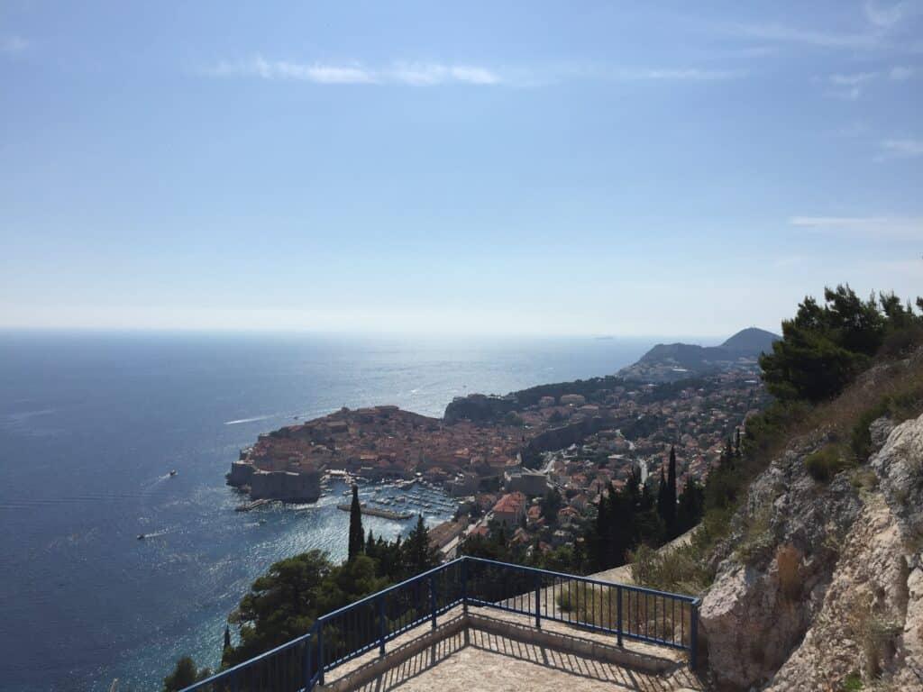 Kig på den gamle bydel i Dubrovnik