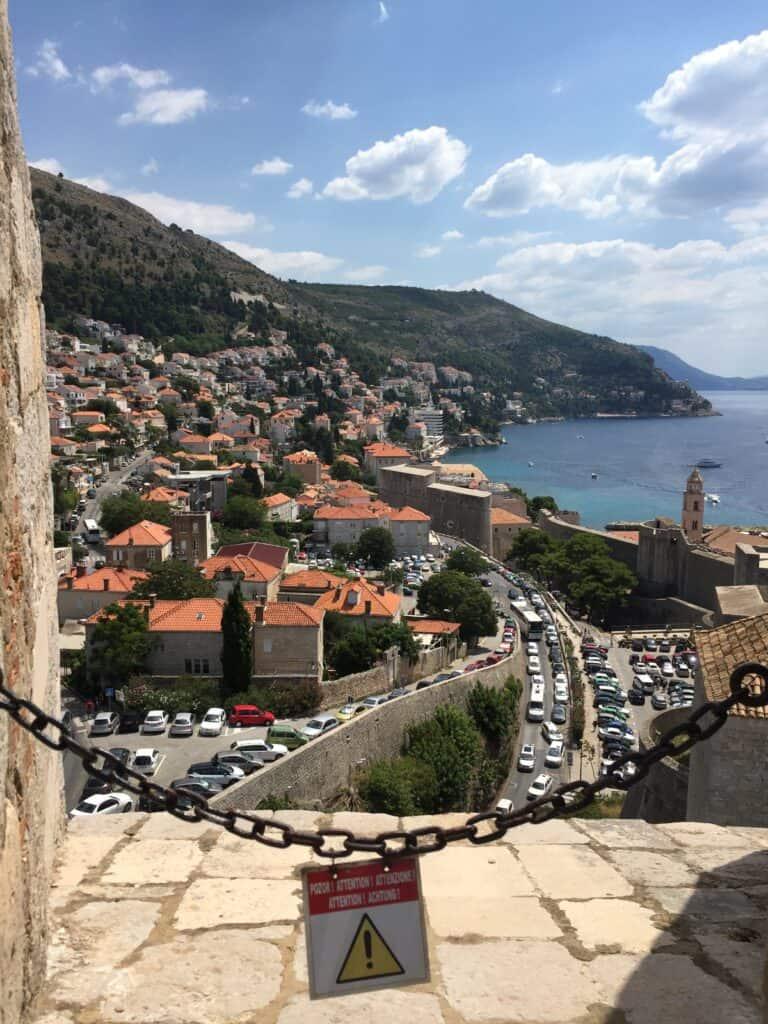 Kig fra Walls of Dubrovnik
