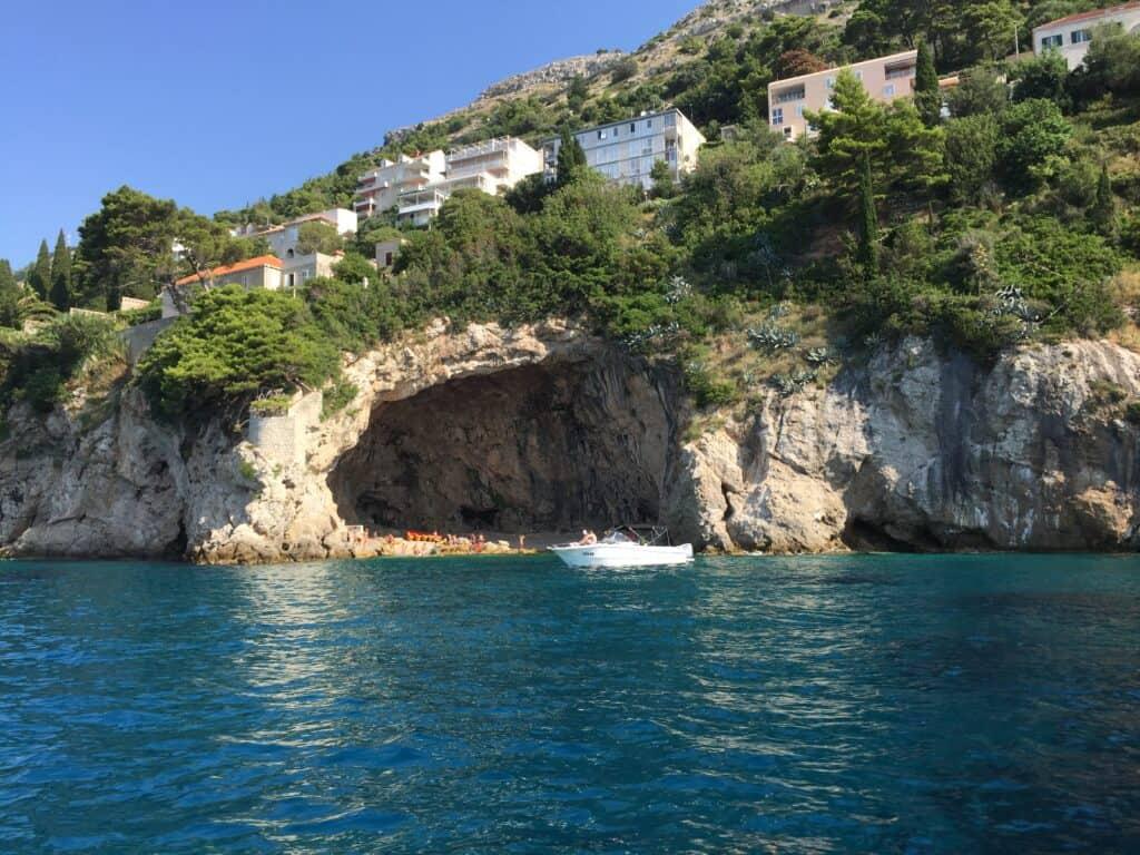 Havkajak mødested ved Dubrovnik