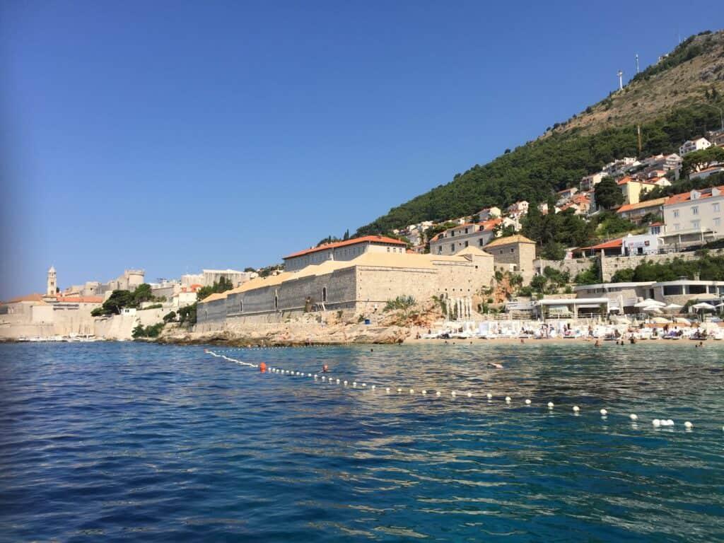 Banje Beach ved Dubrovnik
