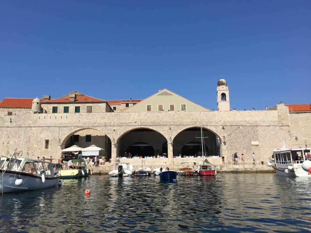 Indsejling til Dubrovnik