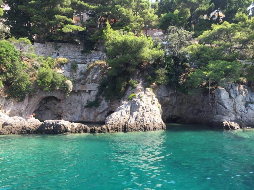 Sejltur ved Dubrovnik