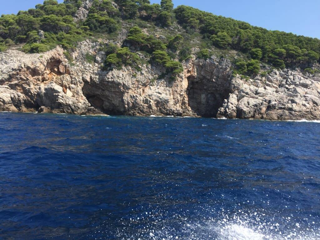 Sejltur mellem Dubrovnik og Kolocep