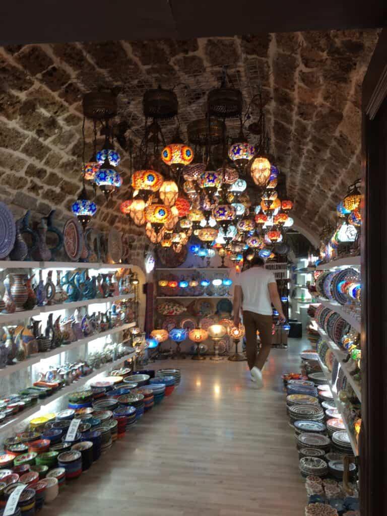 Flot butik i Kotor